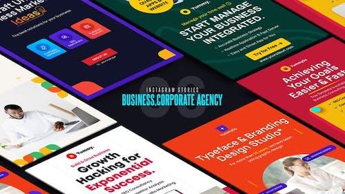 Business, Corporate Agency Instagram Stories