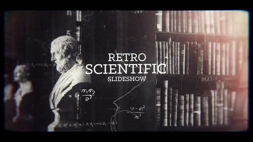 Retro Science Slideshow