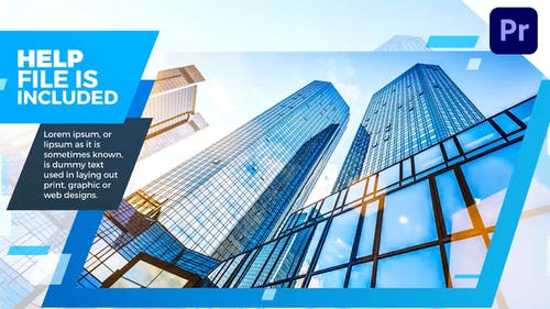 Corporate Blue Slideshow
