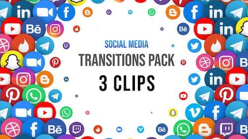 Social Media Transitions - 3 Clips