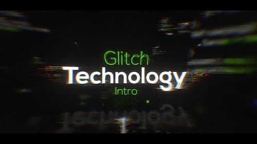 Glitch Titles and Logo