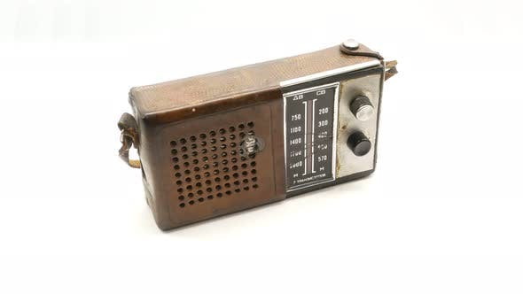 Thumbnail for Old Soviet Vintage Radio Receiver