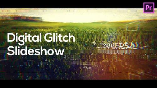 Digital Glitch Slideshow for Premiere Pro