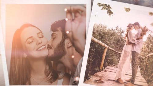 Romantic Story Slideshow for DaVinci Resolve