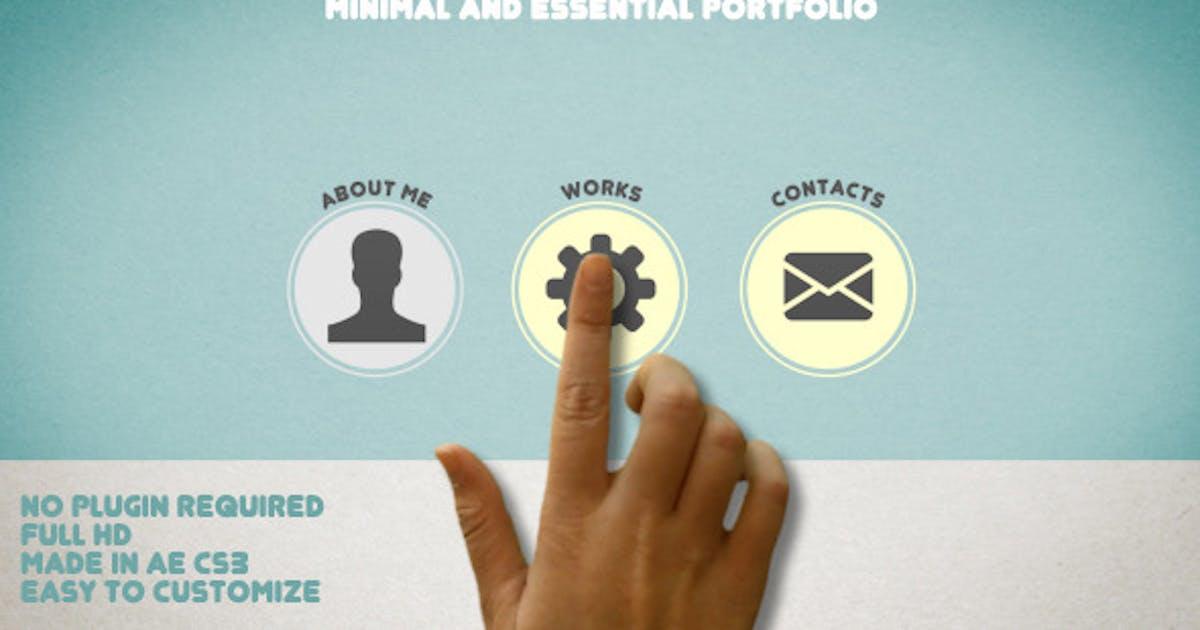 Download Minimal and Essential Portfolio by marcobelli