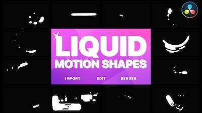 Liquid Motion Shapes | DaVinci Resolve