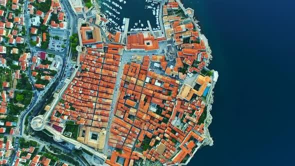 Thumbnail for Historical Dubrovnik or Kings Landing from Above
