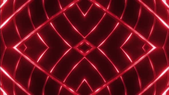 Cover Image for 10 Red Metalic Shape  Vj Pack