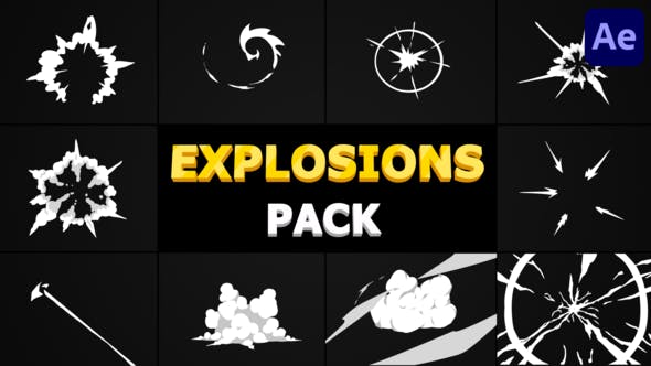 Explosions Pack | After Effects