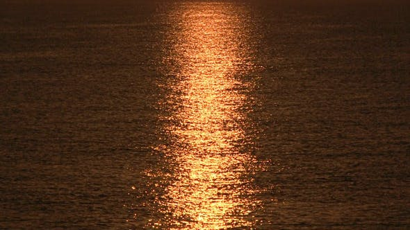Thumbnail for Sunrise Over Sea, Tranquil Landscape