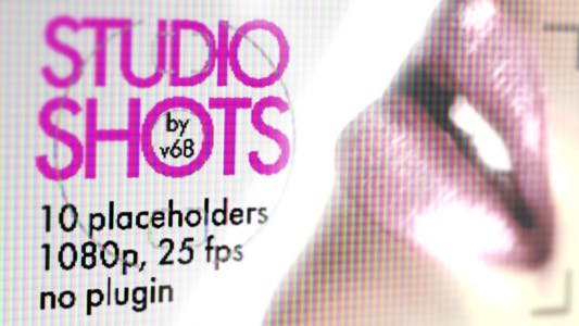 Studio Shots Promo Displays