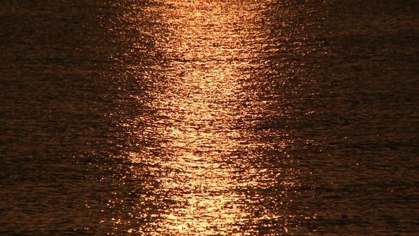 Thumbnail for Sunrise Over Sea, Tranquil Landscape 2