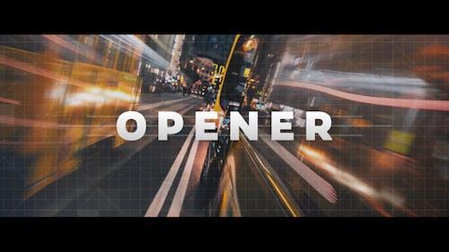 Logo Reveal - Strips Opener