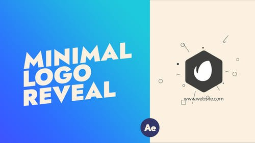 Simple Minimalist Logo Reveal | After Effects Template