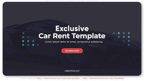 Exclusive Cars Rent Promo