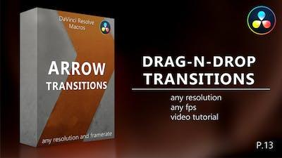 Arrow Transitions for DaVinci Resolve