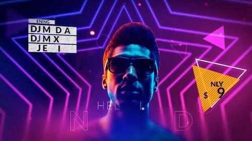 Neon Party Promo - Premiere Pro