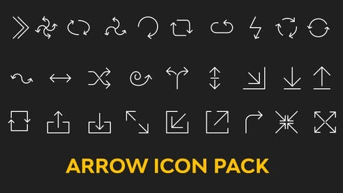 Pack d'icônes de flèches