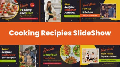 Cooking Recipes Food Slideshow