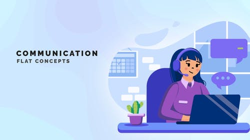 Communication - Flat Concept