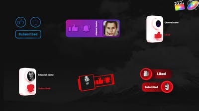 Youtube Creative Subscribe Elements