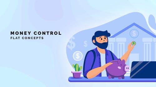 Money control - Flat Concept