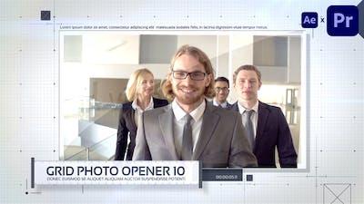 Grid Photo Opener - Corporate Slideshow