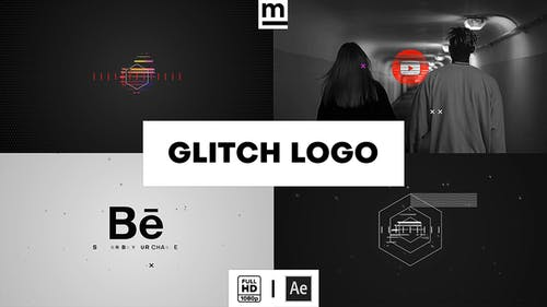 Glitch Fast Logo