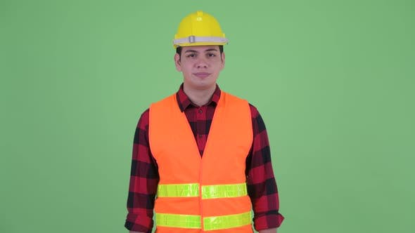 Thumbnail for Serious Young Multi Ethnic Man Construction Worker Thinking