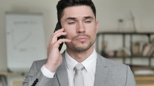 Thumbnail for Discussion, Businessman Negotiating on Phone