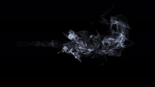 Wispy Cigarette Smoke