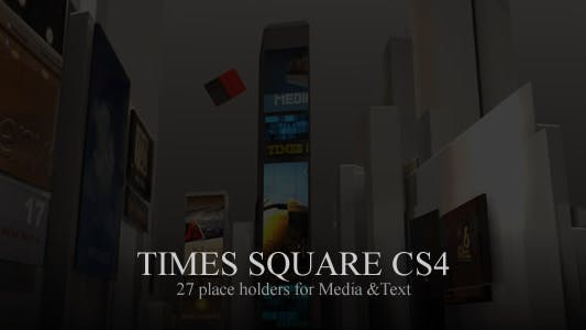 Thumbnail for Times Square CS4
