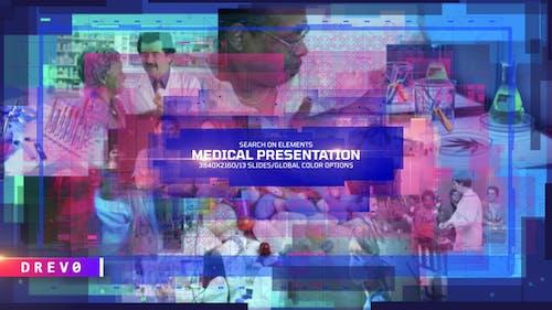 Medical Presentation/ Corp Corporate/ Coronavirus COVID-19/ Digital Retro Wave/ Slideshow/ Center