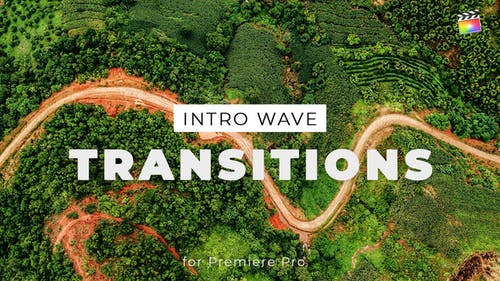 Intro Wave Transitions for Final Cut Pro X