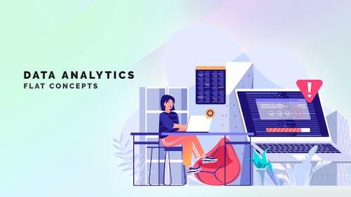 Data analytics - Flat Concept