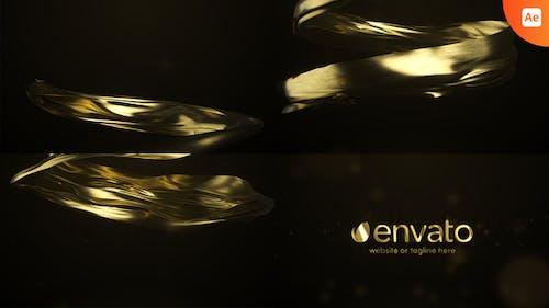 Gold Premium Logo Reveal
