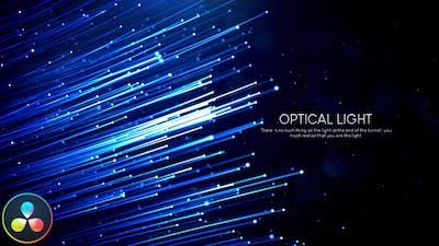 Optical Light Inspiring Titles - DaVinci Resolve