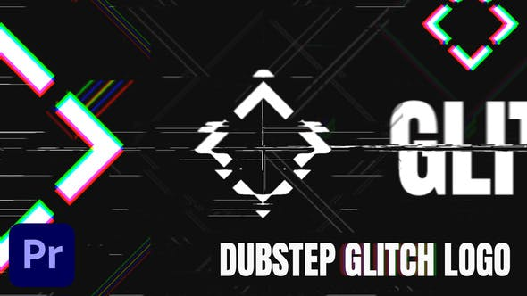 Dubstep Glitch Logo