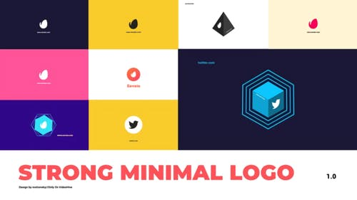 Strong Minimal Logo   DaVinci Resolve