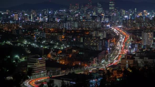 Thumbnail for Seoul Illumination at Colorful Korea Night Lights