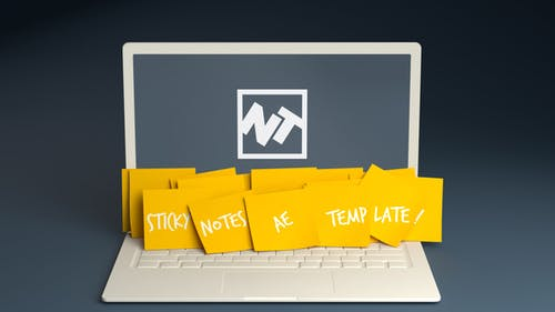 Sticky Notes Promo Logo