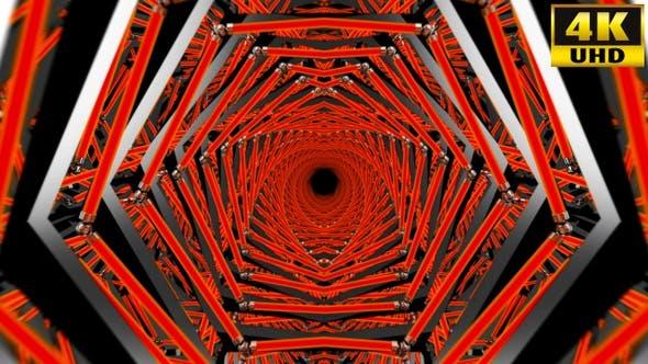 Thumbnail for Kaleidoscope Vj Loops Pack V85