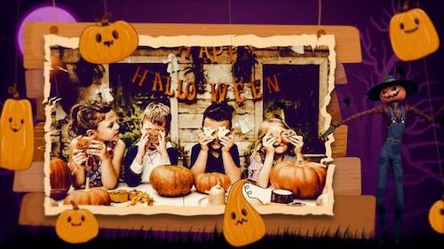 Happy Halloween Slideshow   MOGRT