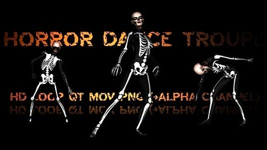 Thumbnail for Horror Dance Troupe Loop
