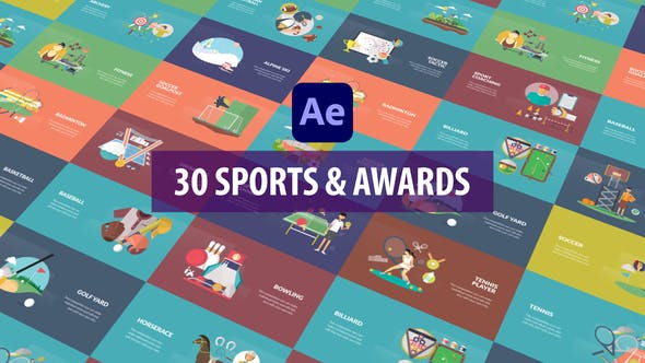 Sport and Awards Animation   After Effects