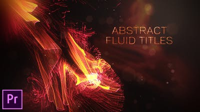 Abstract Fluid Titles - Premiere Pro