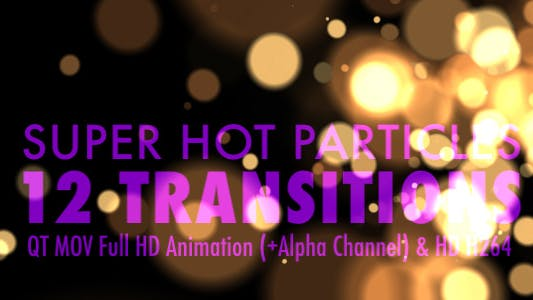 Thumbnail for Super Hot Particles - Pack Of 12