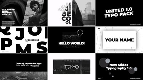 Typography Titles | Apple Motion & FCPX