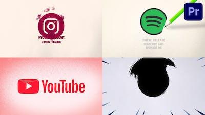 Cinematic Paper Logo   Premiere Pro MOGRT