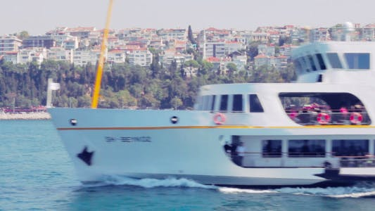 Thumbnail for Istanbul Bosphorus Ferry Close Up